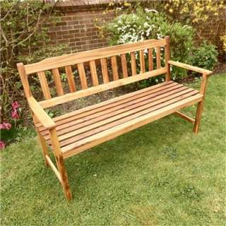 Garden Bench Billyoh Signature 3 Seater Acia Wooden Bench
