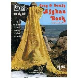 Full Color Knit & Crochet Afghan Patterns, Book 27) GYS Books Books