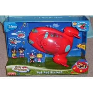 Fisher Price Disney Little Einsteins Pat Pat Rocket    Based on TV
