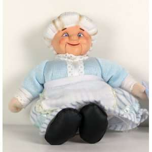 Rankin Bass 8 plush Mrs Clause Doll from A Year Without