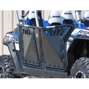 Polaris RZR 4 XP 900 Doors WITH Cutouts by Pro Armor. Brushed Aluminum