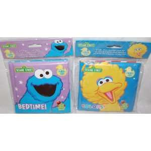 Street Big Bird & Cookie Monster Bath Time Bubble Books Toys & Games