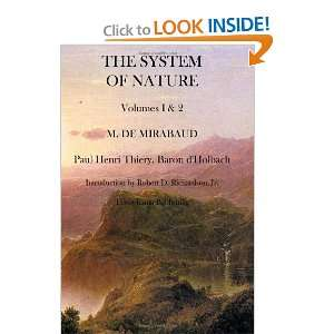 The System of Nature: Paul Henri Thiery: 9781926842790: