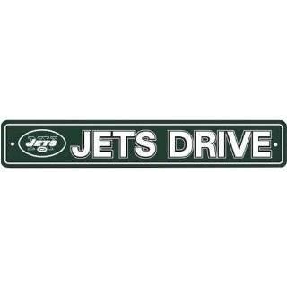 New York Jets Plastic Street Sign Jets Drive