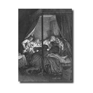 Castrating Abelard Illustration From lettres Dheloise Et