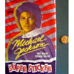 Michael Jackson Super Sticker Toys & Games