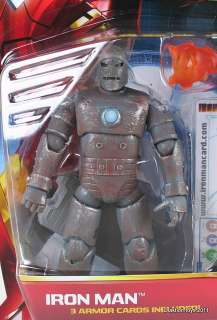 MARVEL   IRON MAN 2   IRON MAN MKI   FIRST APPEARANCE   ACTION FIGURE