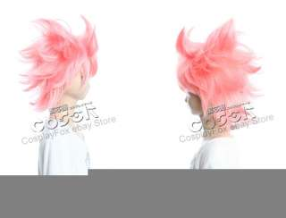Fairy Tail Natsu Dragneel Cosplay Wig Costume 43Cm
