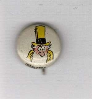 1940`s 4 KELLOGG`S PEP CEREAL COMIC CHARACTER PINS