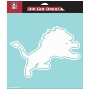 NFL Detroit Lions 8 X 8 Die Cut Decal
