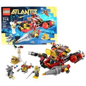 Lego Year 2011 Atlantis Series 8 Inch Long Vehicle Set