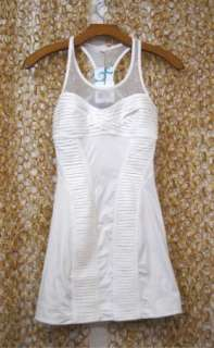 STELLA McCARTNEY Adidas White TENNIS DRESS New $150 XS
