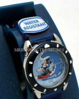 Disney Jaz Womens Mickey Mouse Sport Surfing Watch NEW