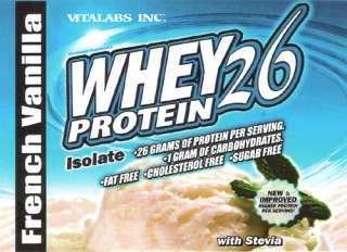 Vitalabs   Ultra Whey Protein Powder   420 gm. Vanilla