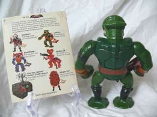 He Man Leech 100% Complete w/ mini comic Masters of the Universe Vtg