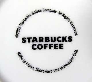 Starbucks Coffee Cup/Mug Pink/Red Hearts 2005