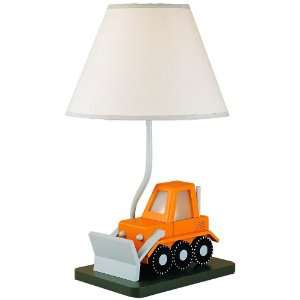 Cal Lighting BO 5667 Bull Dozer Childrens Table Lamp: Home