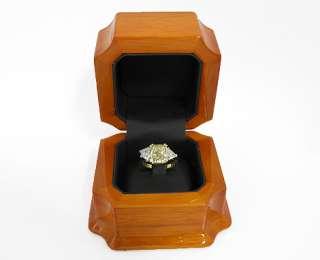 Radiant Fancy Yellow Diamond Ring *5.00ct Total Diamond Weight*