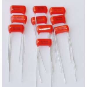 Lot of 10 .01 uf Sprague / SBE Orange Drop Capacitor 200V