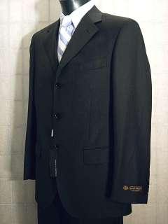 Abito uomo lana tg 56 Tessuto LORO PIANA Grigio scuro New Wool Suit