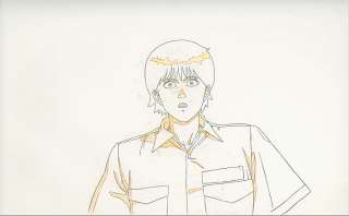 Akira Anime Cel Animation Art Kei in Baby Room COA