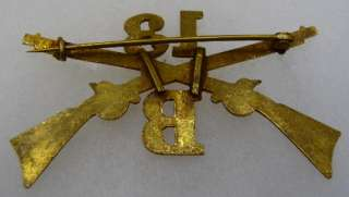 13th INFANTRY REGIMENT COMPANY B   U.S. ARMY CAP BADGE