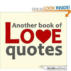 Another book of love quotes Various Authors, Joe Valentine