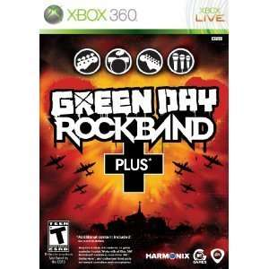 Xbox 360 Green Day Plus Rock Band Guitar Bundle (Includes