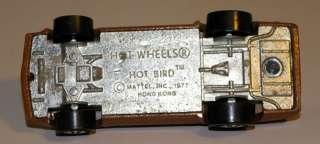 ORIGINAL Hot Wheels HOT BIRD in Alternate BROWN  KILLER