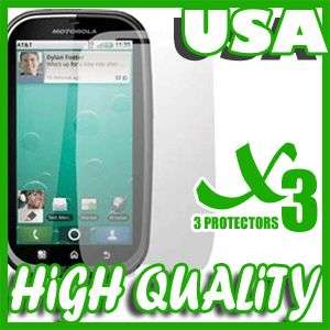 LCD SCREEN PROTECTOR COVER KIT FOR MOTOROLA MB520 BRAVO