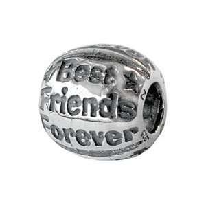Zable Best Friends Forever Talking Sterling Silver Charm