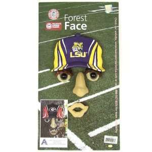 LSU TIGERS OFFICIAL FOREST FACE TREE DECORATION: Sports