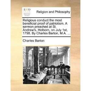 . By Charles Barton, M.A.  (9781170008751): Charles Barton: Books