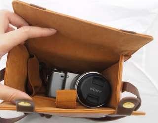 Vintage Camera Leather Case Bag for EP1 EP2 NEX GF3 GF2