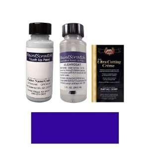 1 Oz. Indian Lake Blue Metallic Paint Bottle Kit for 1989