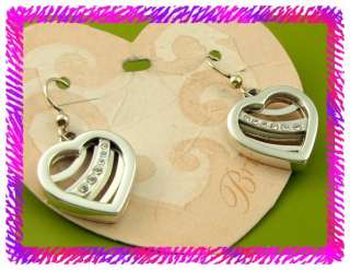 BRIGHTON VALENTINA Heart French Wire EARRINGS NWTag