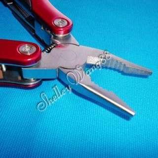 1x Butterfly Opening Multi Tools Knife Plier /w Sheath