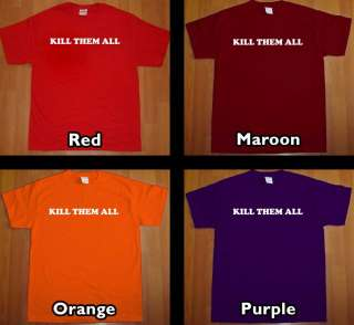 KILL THEM ALL ofwgkta T Shirt odd future wolf gang tee