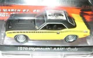 1970 PLYMOUTH AAR CUDA GREENLIGHT ONLY 3 MADE 1/64 RARE
