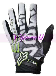 Fox Racing Monster Motocross BMX Cycling Gloves M/L/XL