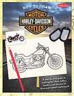 How to Draw Harley davidson Motorcycles by Jickie Torres (2010