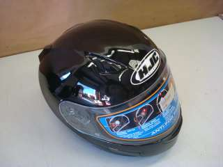 HJC CL SP CLSP BLACK MOTORCYCLE HELMET M MEDIUM NEW
