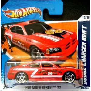 DRIFT CAR #170/244, HW Main Street #10/10 (Short Card): Toys & Games