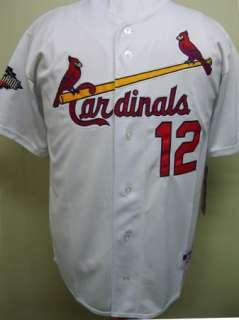 NEW Lance Berkman 2011 All Star Patch St. Louis Cardinals Home Jersey