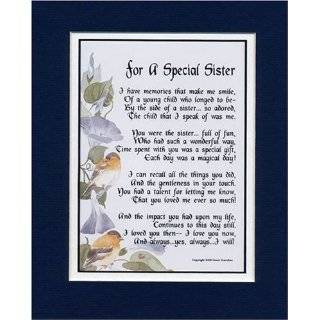 Touching and Heartfelt Poem for Sisters   With Love for My