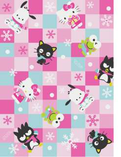 New Holiday Sanrio Hello Kitty 5pc Paper Gift Bag 2011 Pinch