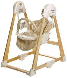 Brays Mommys review of Eddie Bauer Classic Wood Swing