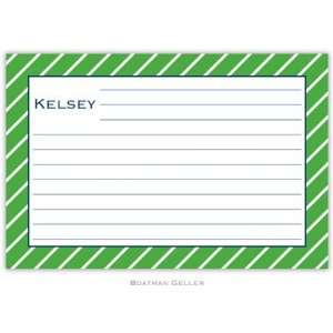 Boatman Geller   Custom Recipe Cards (Kent Stripe)