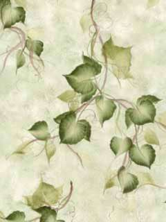 Donna Dewberry Ivy on Green Wallpaper 233 33974 Free Shipping