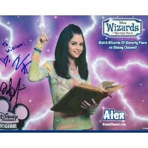 David DeLuise Jennifer Stone Wizards of Waverly Place Signed Auto